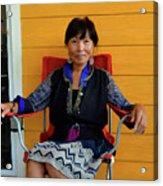 Black Hmong Sapa 3 Acrylic Print