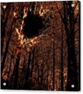 Black Hole Sun Acrylic Print