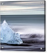 Black Ice Acrylic Print