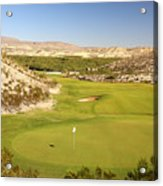 Black Jack's Crossing Golf Course Hole 12 Acrylic Print