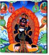 Black Jambhala  1 Acrylic Print