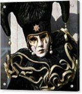 Black Jester Acrylic Print