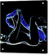 Black Lite Acrylic Print