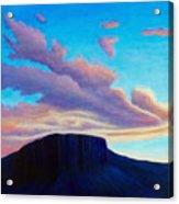 Black Mesa Sunset Acrylic Print