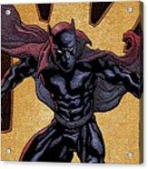 Black Panther Acrylic Print