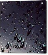 Black Rain Acrylic Print