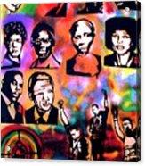 Black Revolution Acrylic Print by Tony B Conscious
