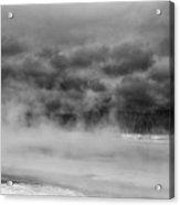 Black Sand Basin Acrylic Print