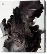 Black Smoke Acrylic Print