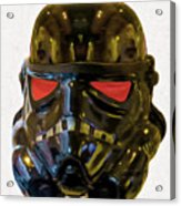 Black Stormtrooper - Pa Acrylic Print