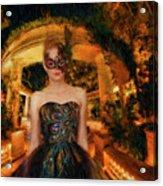 Black Swan Stroll Acrylic Print