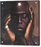 Black Thought Acrylic Print