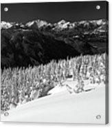 Black Tusk Mountain Scenery Acrylic Print