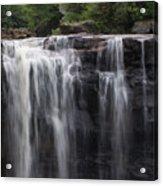 Black Water Falls Wv Acrylic Print