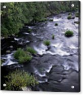 Black Waters Acrylic Print