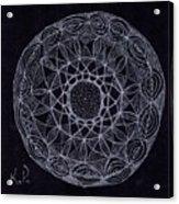 Black Zen 2 Acrylic Print