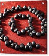 Blackberry Sign Acrylic Print