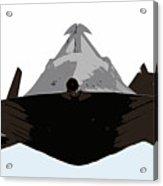 Blackbird Acrylic Print