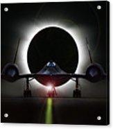 Blackbird Eclipse Acrylic Print