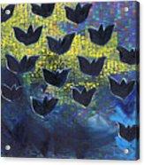 Blackbirds Acrylic Print