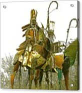 Blackfeet Wariors Acrylic Print