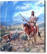 Blackfoot Warrior Acrylic Print