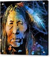 Blackfoot Woman Acrylic Print
