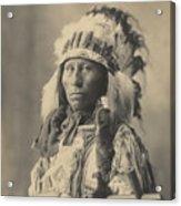 Blackheart Ogalalla Sioux Acrylic Print