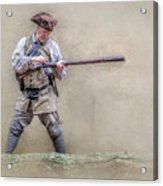 Blackpowder Woodsman Version Two Acrylic Print by Randy Steele