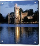 Blackrock Castle, River Lee, Near Cork Acrylic Print by The Irish Image Collection