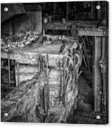 Blacksmith Bench Acrylic Print