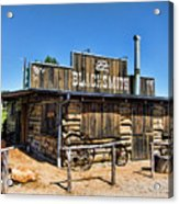 Blacksmith Acrylic Print
