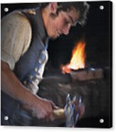 Blacksmith - Pioneer Village Acrylic Print