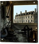 Blacksmith Shed Acrylic Print by Peter Chilelli