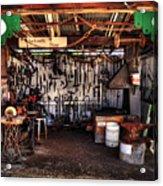 Blacksmith Shop By Kaye Menner Acrylic Print