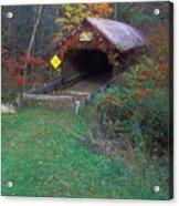 Blacksmith Shop Covered Bridge Acrylic Print