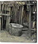 Blacksmith's Bucket Acrylic Print