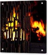 Blacksmiths Furnace Acrylic Print