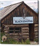 Blacksmiths Acrylic Print