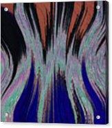 Blades Of Fire Acrylic Print