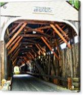 Blair Bridge, Campton Nh Acrylic Print