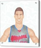 Blake Griffin Acrylic Print