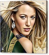 Blake Lively Collection Acrylic Print