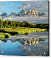 Blame It On The Tetons Acrylic Print
