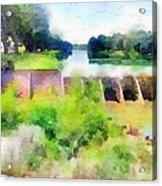 Blanco River Acrylic Print