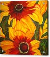 Blanket Flower Acrylic Print