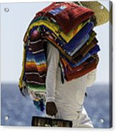 Blankets And Belts Acrylic Print