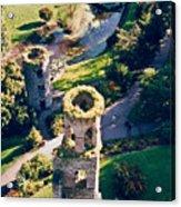 Blarney Castle Ruins In Ireland Acrylic Print