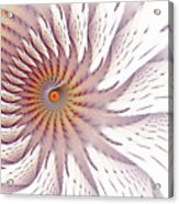 Blazing Forest Acrylic Print