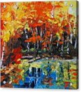 Blazing Reflections Acrylic Print